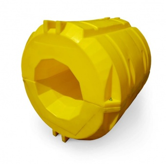 Pipe float element with foam plastic D660